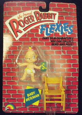 "ROGER RABBIT ""Who Framed""  (Ljn)  1988 0411"