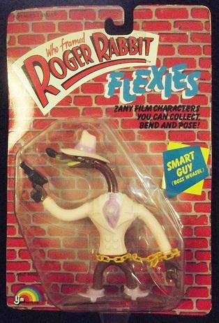 """ROGER RABBIT """"Who Framed""""  (Ljn)  1988 0611"""