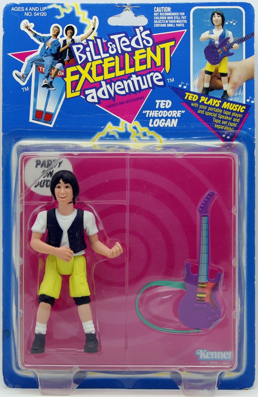 BILL & TED'S EXCELLENT ADVENTURE  (Kenner)  1991 Bt_0410