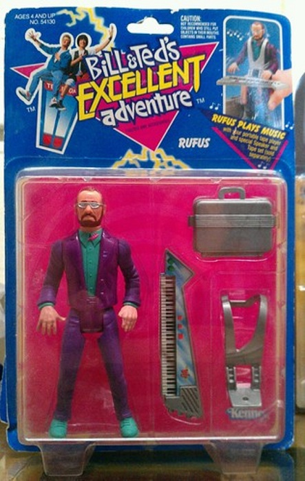 BILL & TED'S EXCELLENT ADVENTURE  (Kenner)  1991 Bt_0610