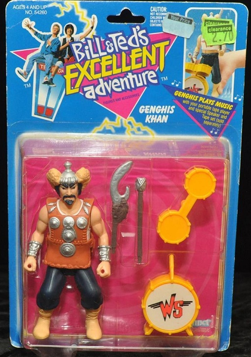 BILL & TED'S EXCELLENT ADVENTURE  (Kenner)  1991 Bt_1210