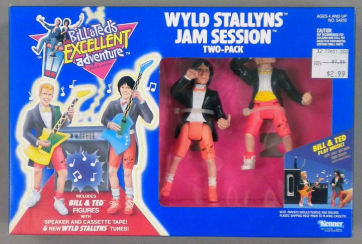 BILL & TED'S EXCELLENT ADVENTURE  (Kenner)  1991 Bt_1610