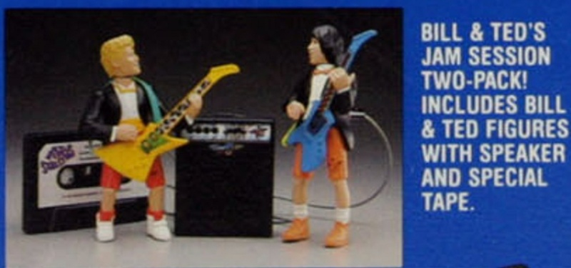 BILL & TED'S EXCELLENT ADVENTURE  (Kenner)  1991 Bt_1710