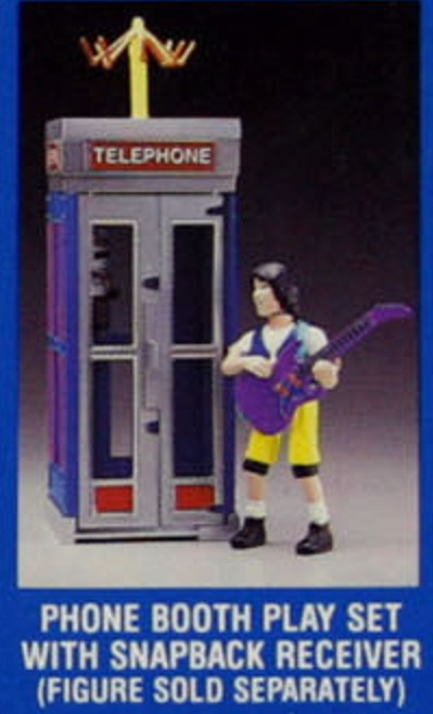 BILL & TED'S EXCELLENT ADVENTURE  (Kenner)  1991 Bt_2110