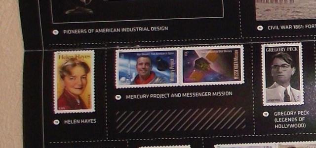 1961 - 2011 / La poste américaine émettra un timbre commémorant le Programme Mercury et Alan Shepard Dscf8912