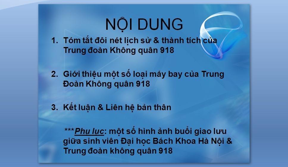 Slides Trung Doan Phong Khong 918 210