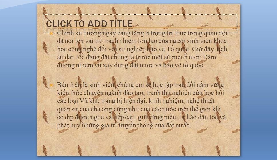 Slides Trung Doan Phong Khong 918 2810