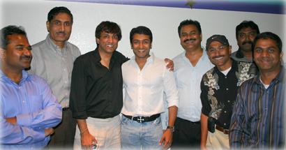 Suriya in USA with his fans Suriya10