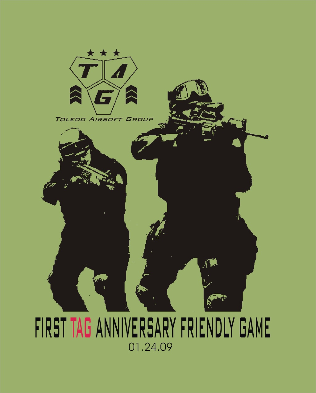 FIRST TAG ANNIVERSARY INVITIONAL FRIENDLY GAME Tshirt11