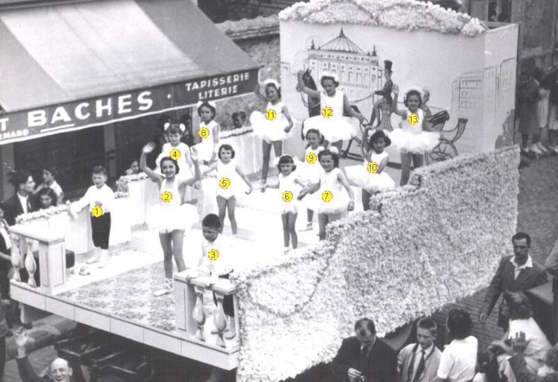 fête des Roses 1953 Fates_11