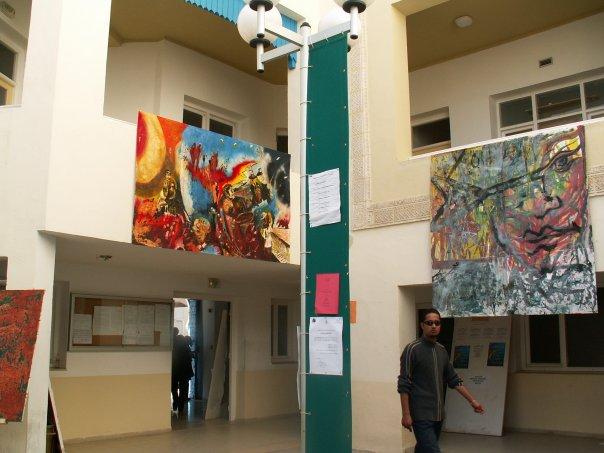أجواء المعهد العالي للفنون الجميلة بسوسة N1313112