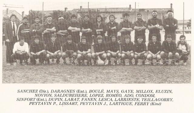 Les reconnaissez-vous ? ... les équipes cadets du Boucau-Stade - Page 3 Aquipe10