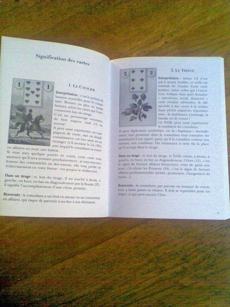 Coffret Les tarots de Mlle Lenormand ► Pierre Ripert Coffre10