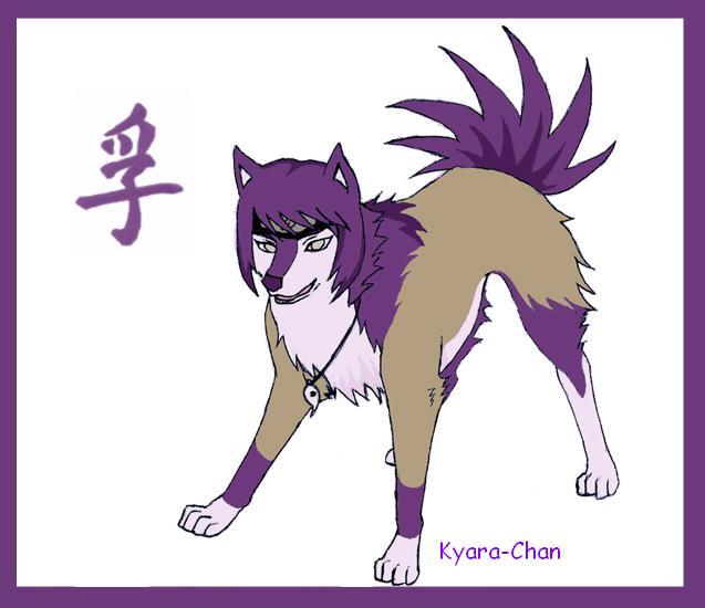naruto wolves xD Anko_b10