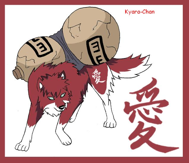 naruto wolves xD Gaara_10
