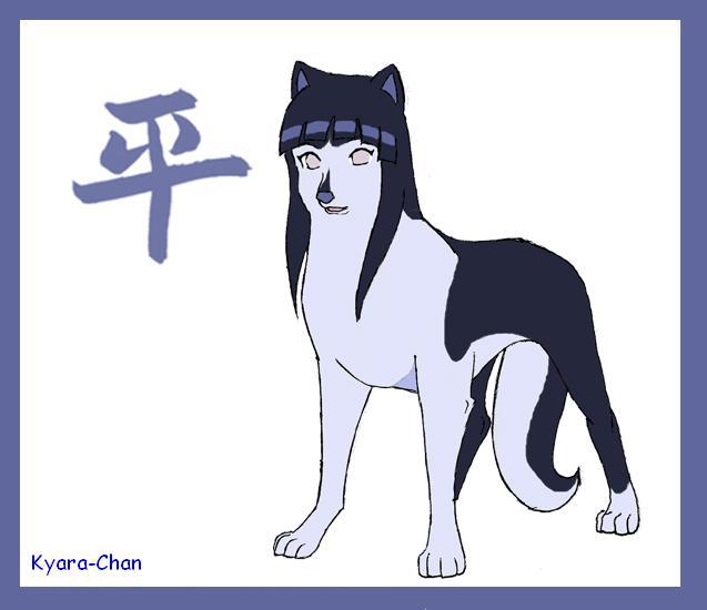 naruto wolves xD Hinata10