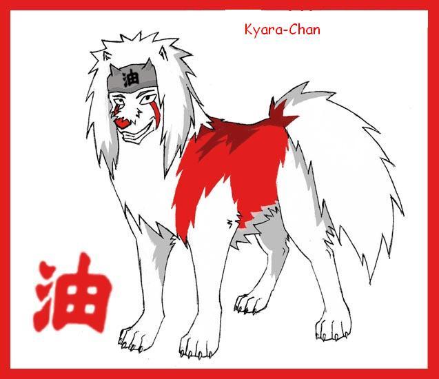 naruto wolves xD Jiraya10