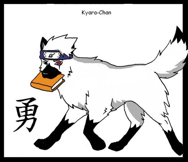 naruto wolves xD Kakash10