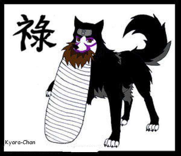 naruto wolves xD Kankur10