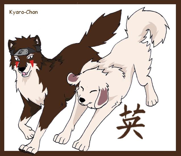 naruto wolves xD Kiba_b11