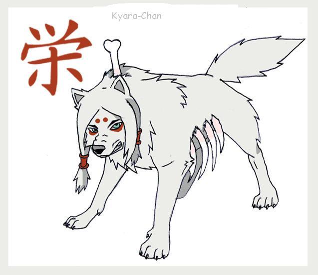 naruto wolves xD Kimima10