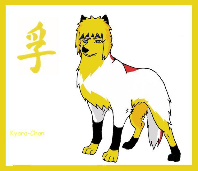 naruto wolves xD Minato10