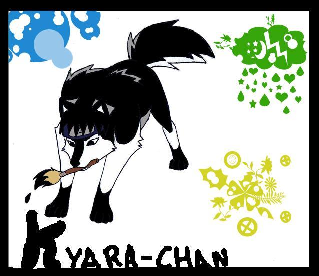 naruto wolves xD Sai_by10