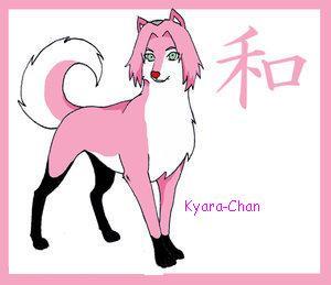 naruto wolves xD Sakura10