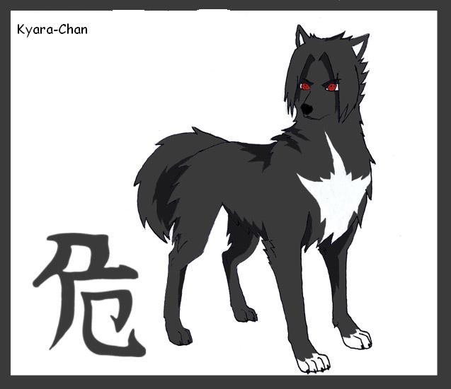 naruto wolves xD Sasuke10