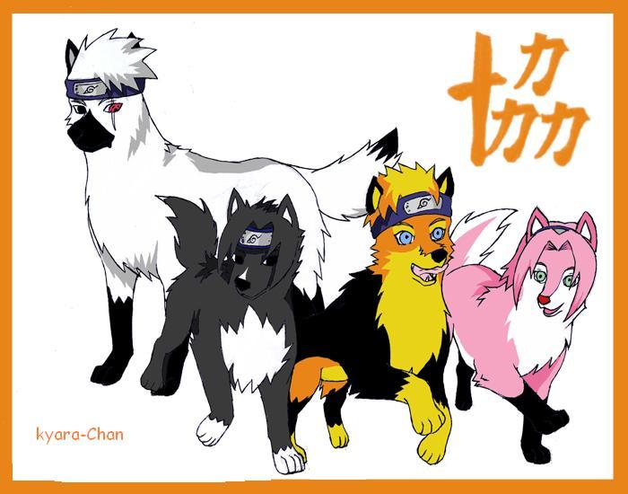 naruto wolves xD Team710