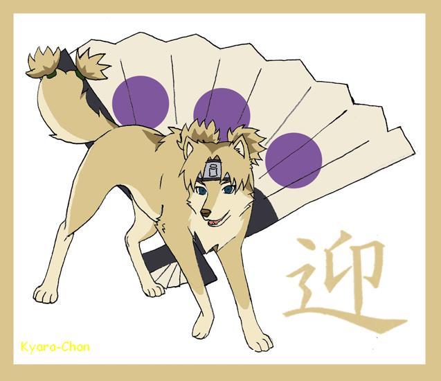 naruto wolves xD Temari10