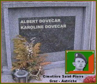 tombe du sergent albert dovecar Doveca10