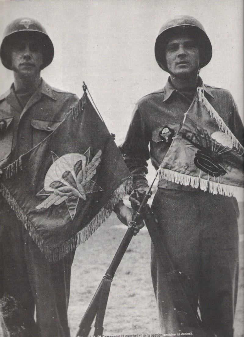 fanion du 1 rcp 1945 Numar101