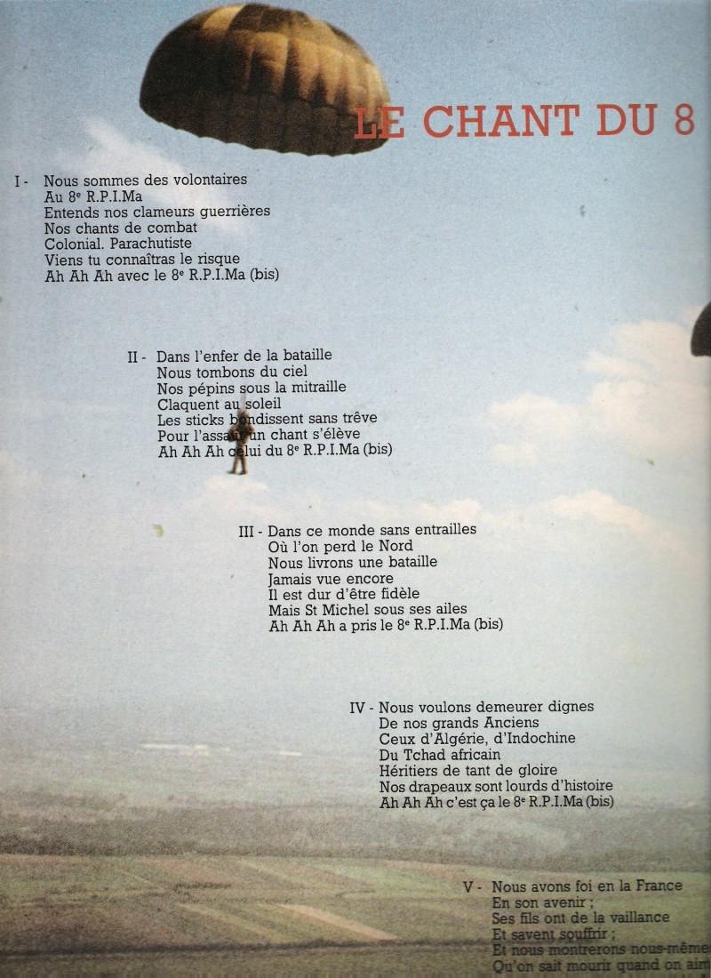 chant du 8 rpima Numar115