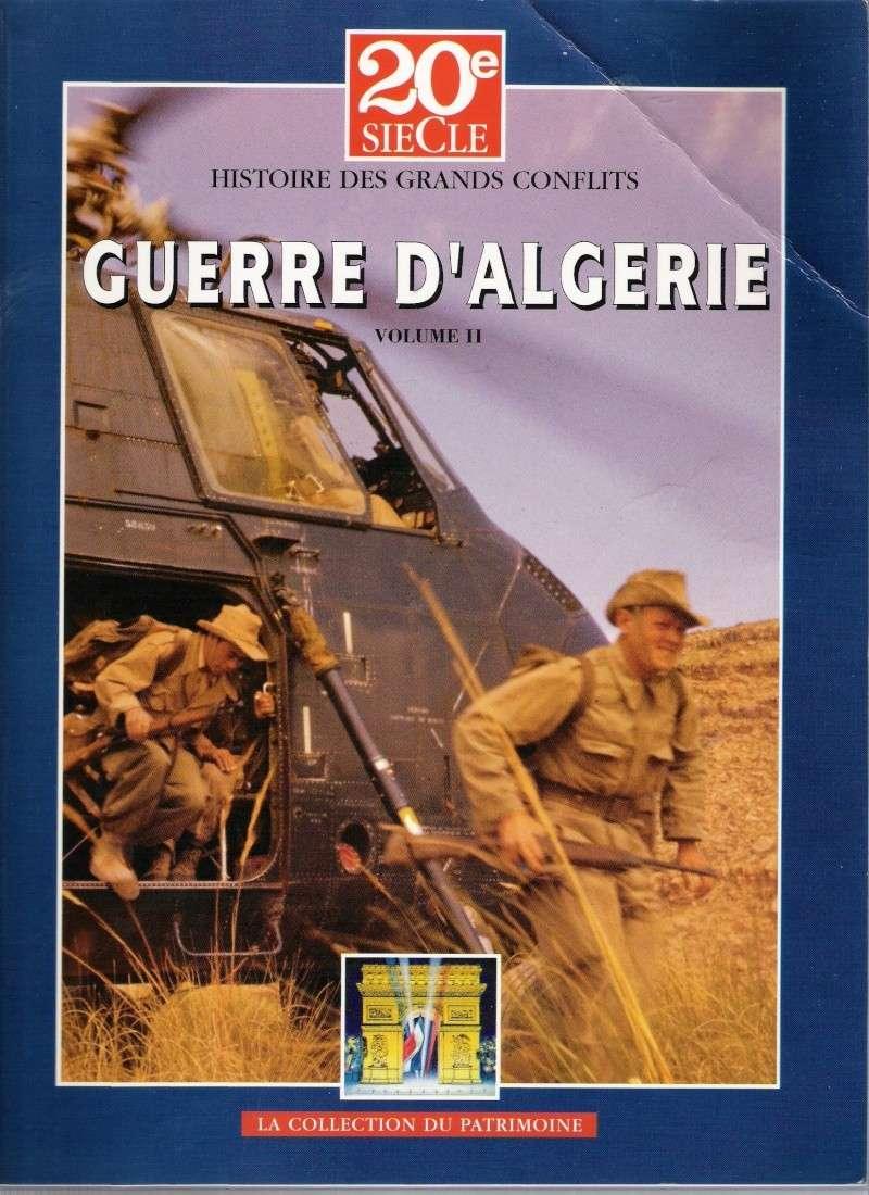 quelques livres sur la guerre d'algérie collection perso Numar139