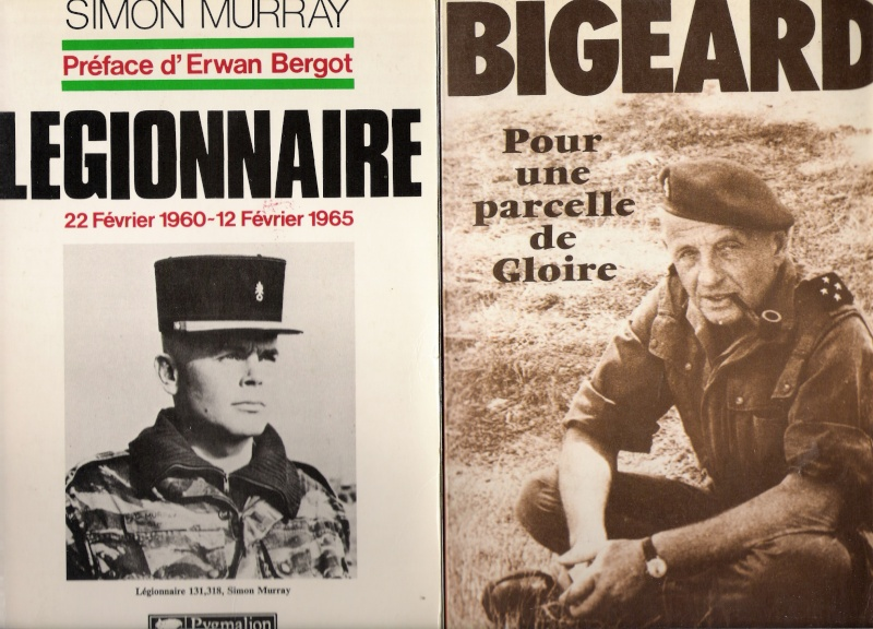 quelques livres sur la guerre d'algérie collection perso Numar143