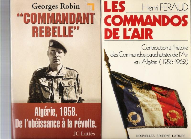 quelques livres sur la guerre d'algérie collection perso Numar144