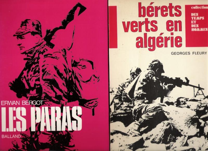 quelques livres sur la guerre d'algérie collection perso Numar152