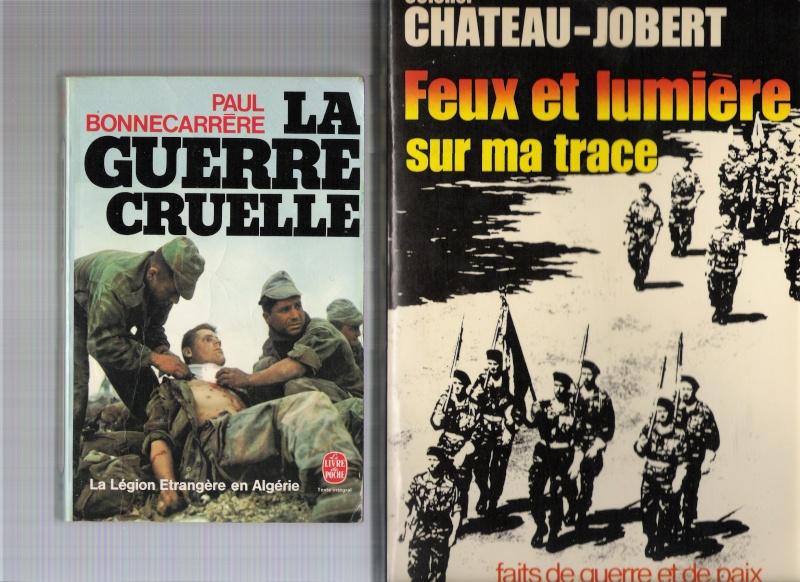 quelques livres sur la guerre d'algérie collection perso Numar154