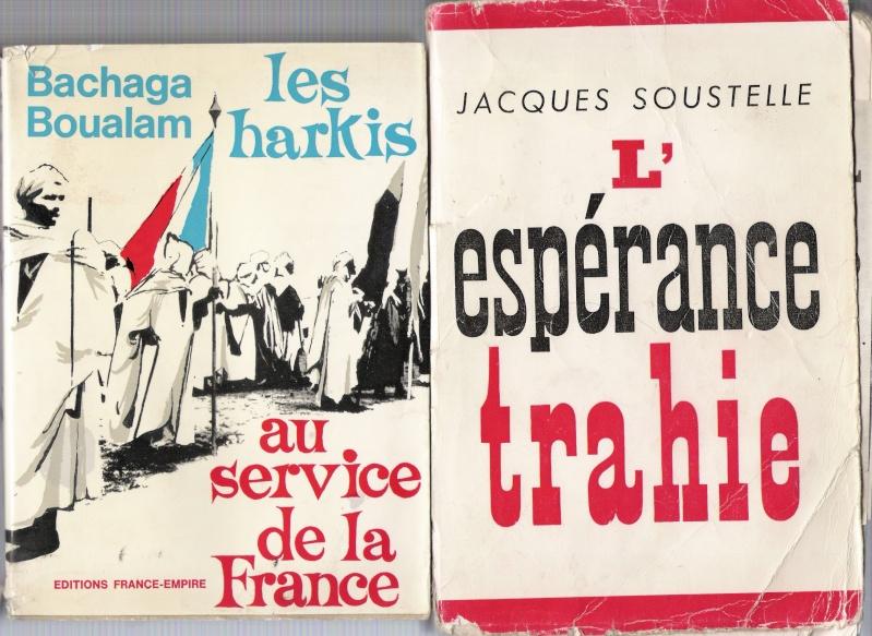 quelques livres sur la guerre d'algérie collection perso Numar156