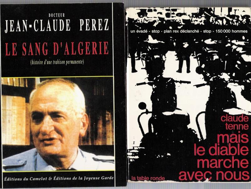 quelques livres sur la guerre d'algérie collection perso Numar161
