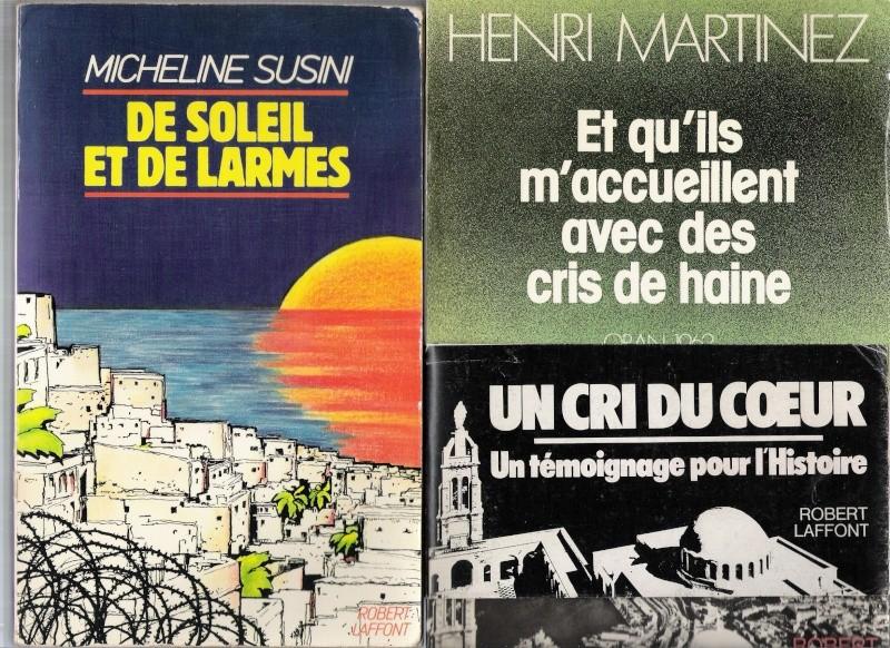 quelques livres sur la guerre d'algérie collection perso Numar162