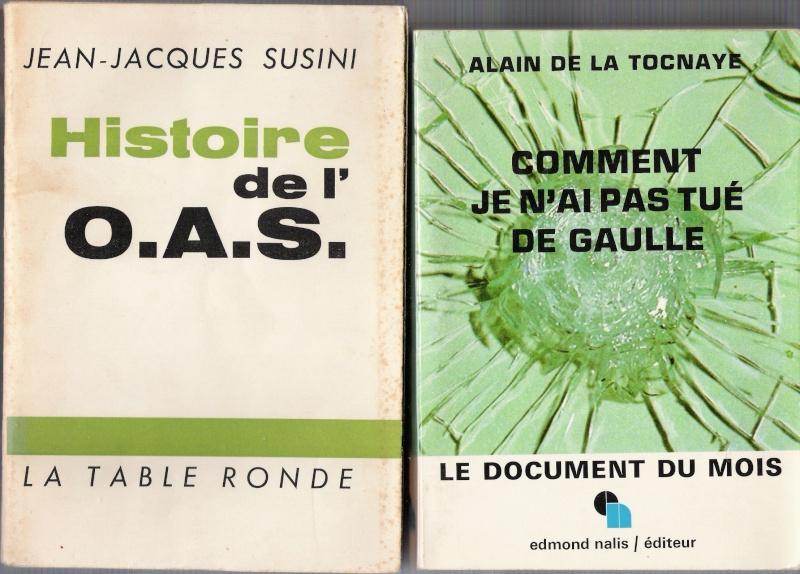 quelques livres sur la guerre d'algérie collection perso Numar164
