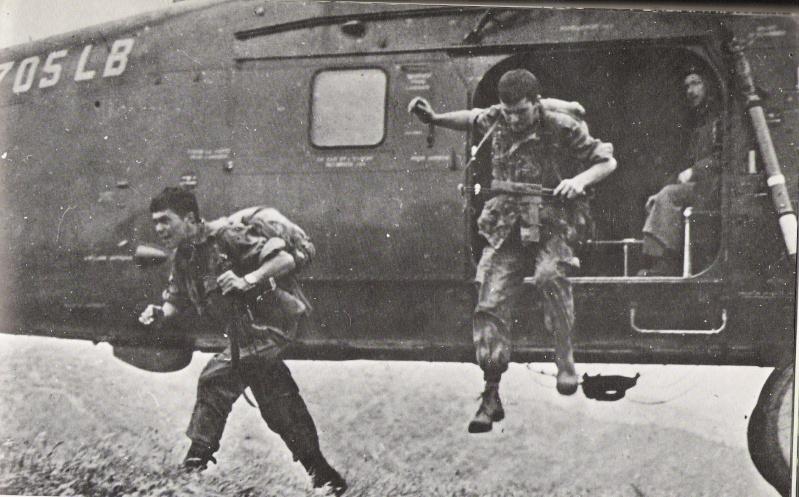 les hélicos fer de lance des troupes d'interventions Numar179