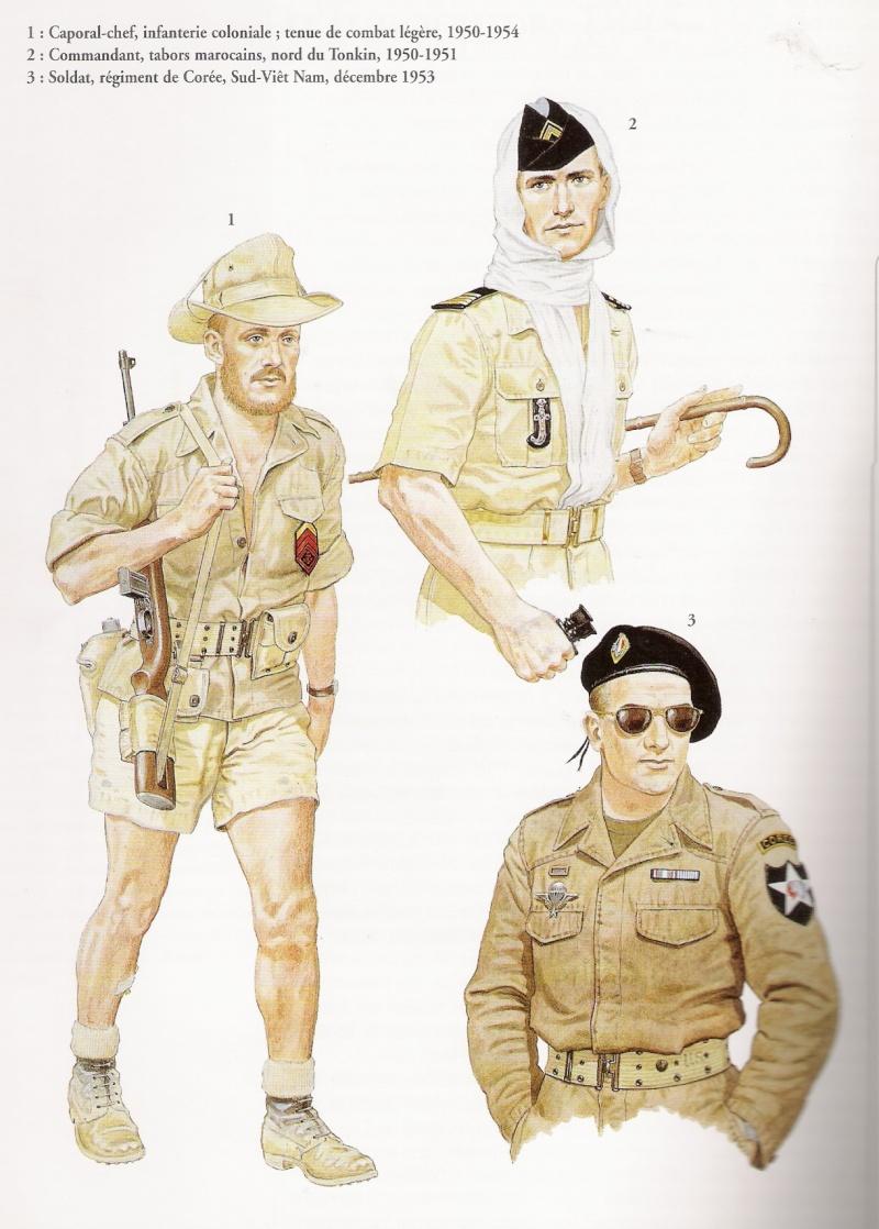 uniformes de la guerre d'indochine Numar214