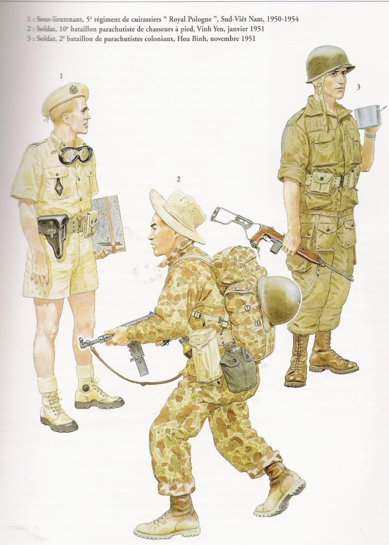 uniformes de la guerre d'indochine Numar215