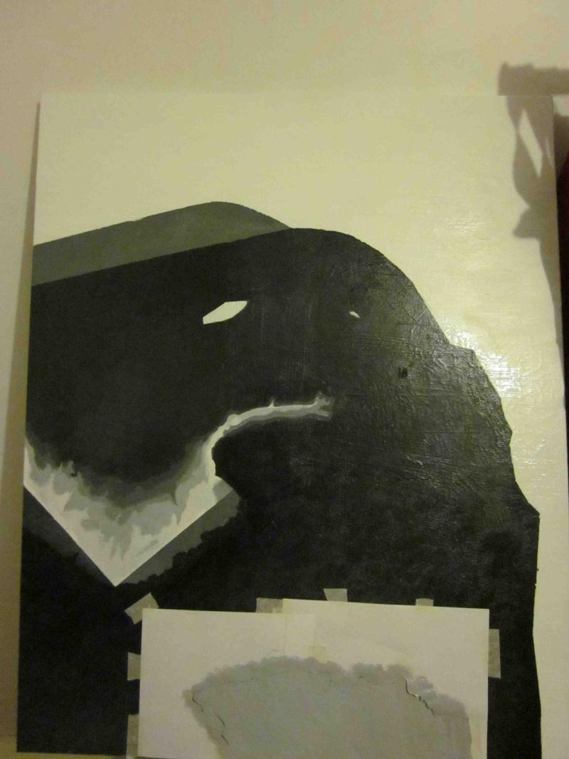 une série à l'encre de Chine Peintu13