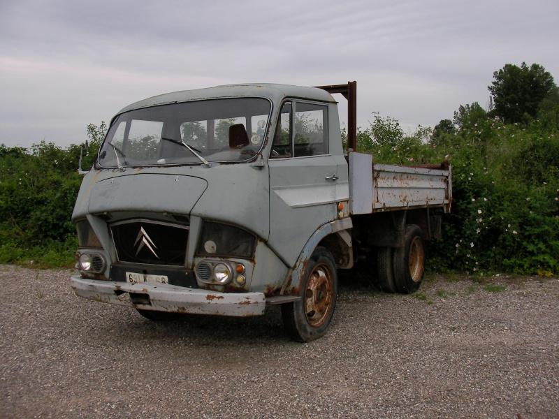épaves / à restaurer - Page 9 Camion10