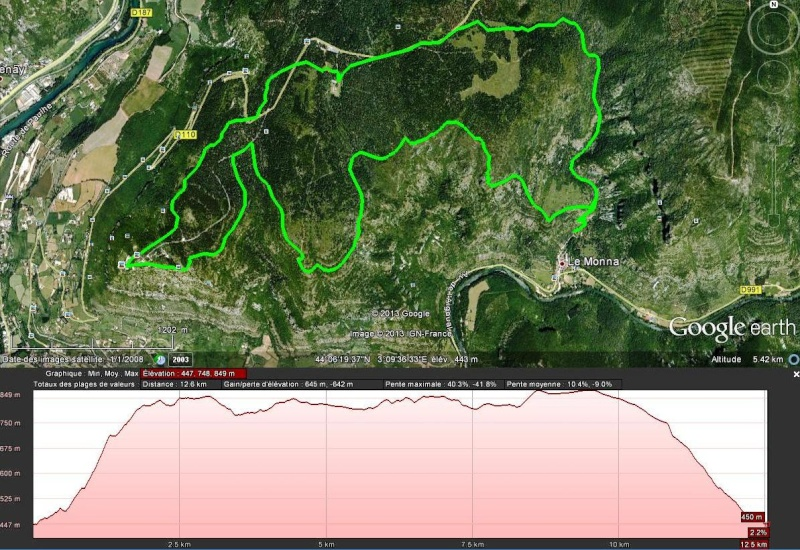 [Rando] Millau - La Puncho d'Agast 13km/D+600m (15/02/13) Puncho10