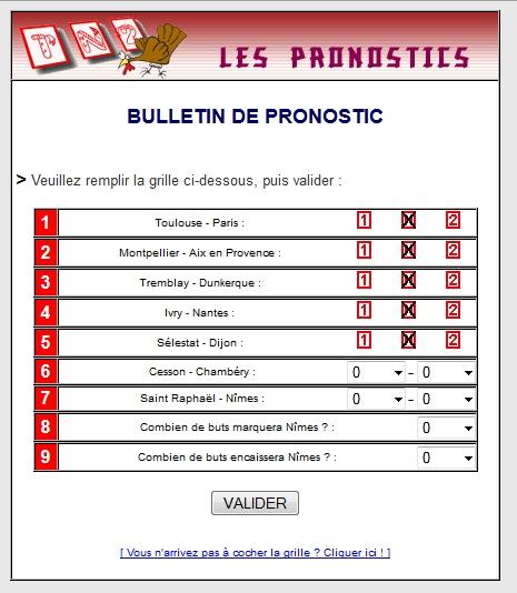PRONOS SAISON 2013-2014 :: FORMULE Pronos11